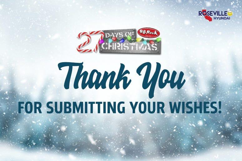 27 Days of Christmas