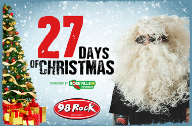 98 Rock Christmas Wish 2020 Pat Martin | KRXQ