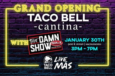 Taco Bell Cantina Grand Opening