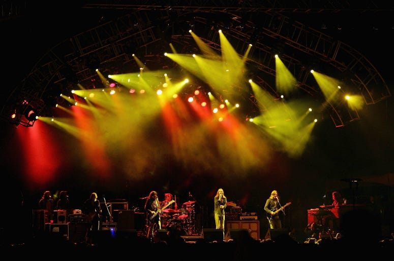 The Black Crowes in 2006