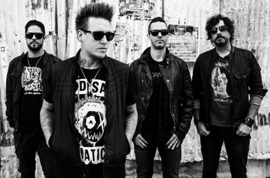 Press Photo for Papa Roach album Crooked Teeth