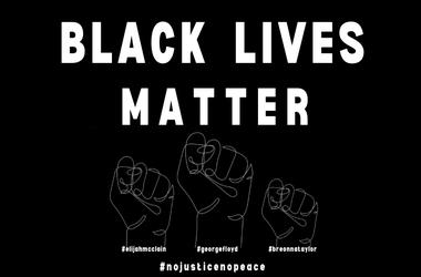 Black Lives Matter - No Justice No Peace