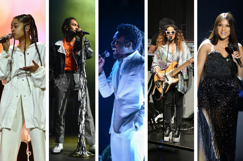 Ella Mai, Miguel, Childish Gambino, H.E.R., and Toni Braxton are all nominated for the BEST R&B Song at the 2019 GRAMMY Awards on Feburary 10, 2019.