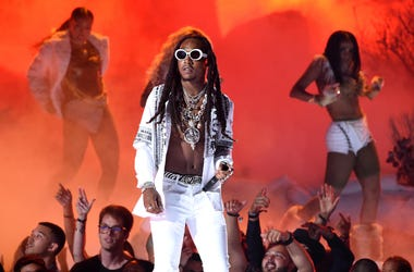 Takeoff of Migos performs onstage at the 2017 BET Awards