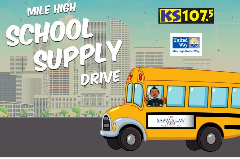 Mile High School Supply Drive
