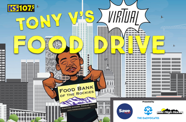 Tony V Virtual Food Drive