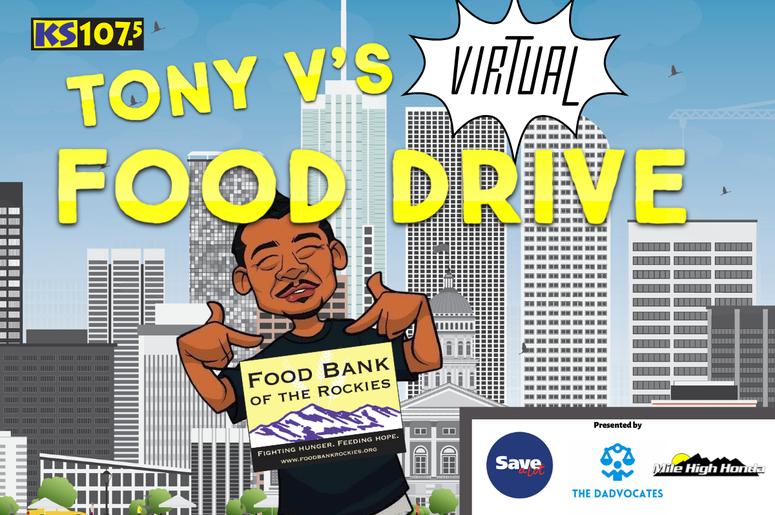 Tony V Virtual Food Drive