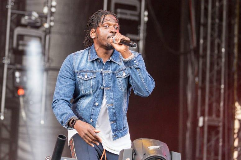 Pusha T (Terrence LeVarr Thornton) during the Budweiser Made In America Music Festival at Benjamin Franklin Parkway on September 3, 2017, in Philadelphia, Pennsylvania.