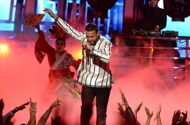 French Montana performs on the 2016 BET Awards at the Microsoft Theatre on June 26, 2016, in Los Angeles, California.