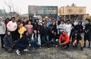 The Boys & Girls Clubs of Metro Denver Visit The Frightmare Compound