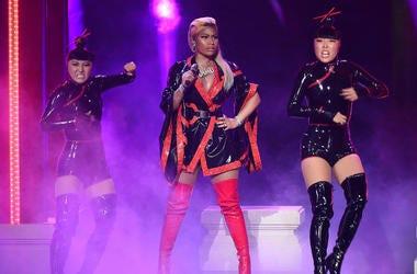 Nicki Minaj performs on the 2018 BET Awards