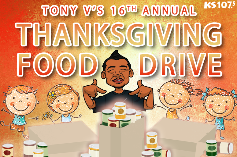 Tony V's Thanksgiving Food Drive