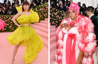 Charli XCX and Lizzo at the Met Gala