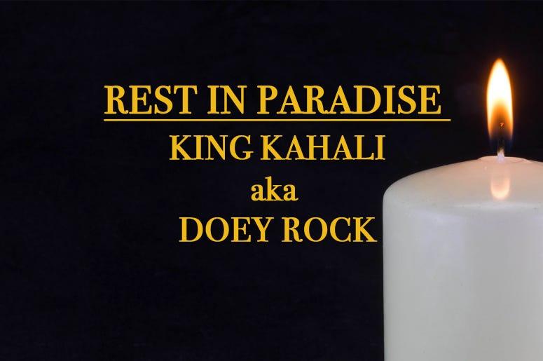RIP Doey Rock