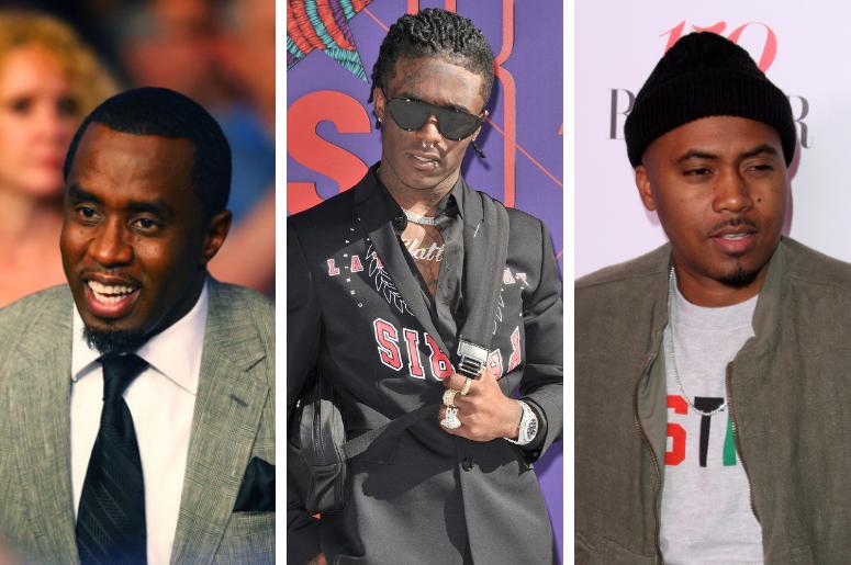 "Sean ""Diddy"" Combs, Lil Uzi Vert, Nas"