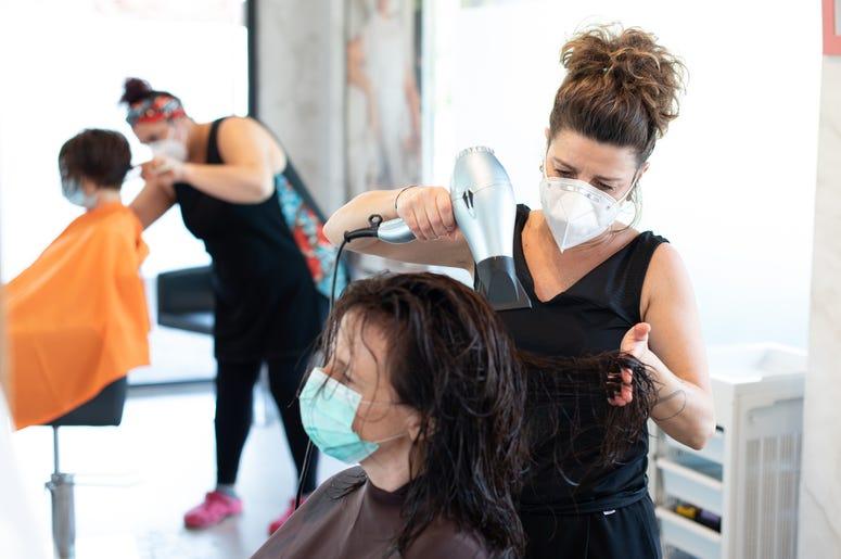 Hair Salon- covid