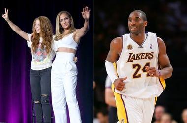 Shakira, Jennifer Lopez, Kobe Byrant