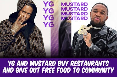 YG and Mustard Give Back