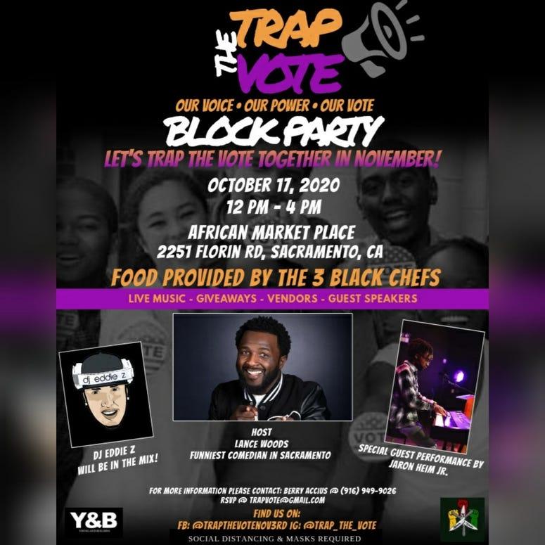 Trap The Vote Flyer