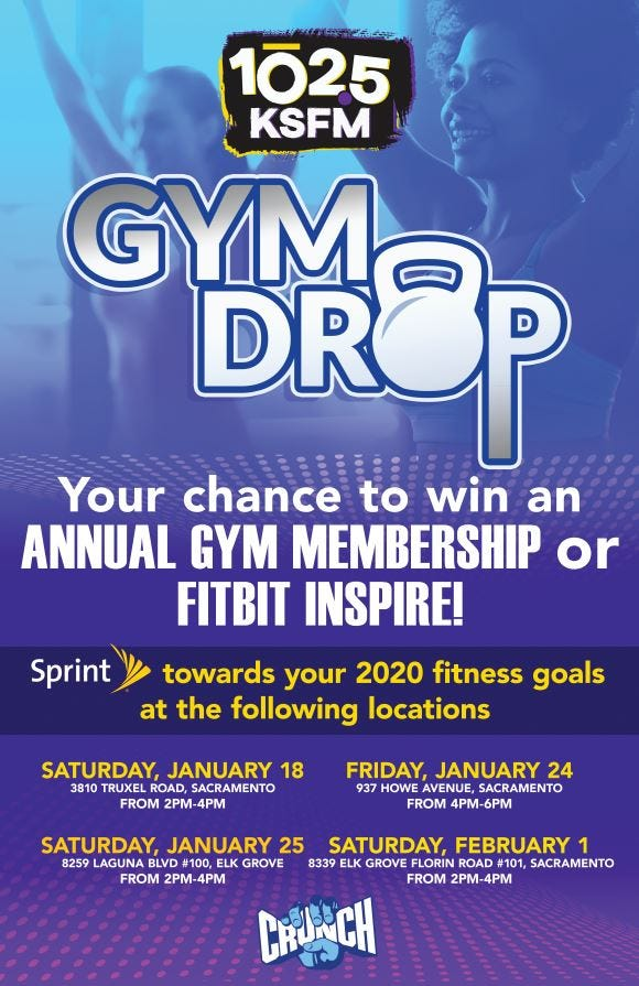 KSFM's Gym Drop