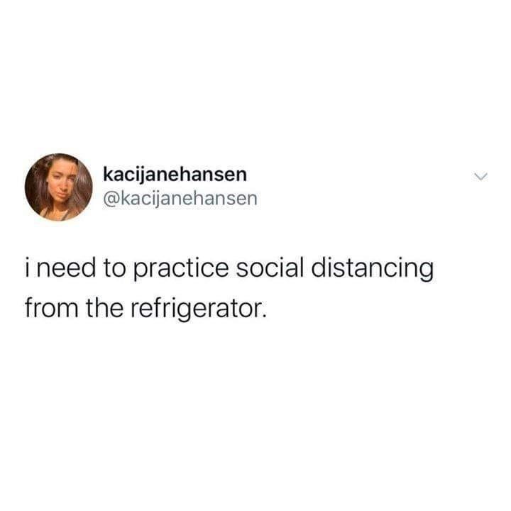 social from fridge