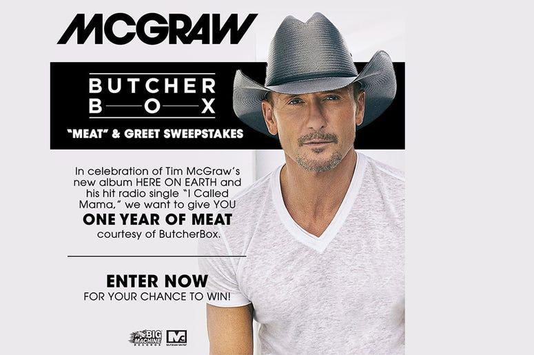 Tim McGraw Meat & Greet