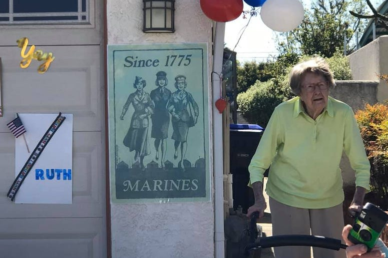 104 year old marine