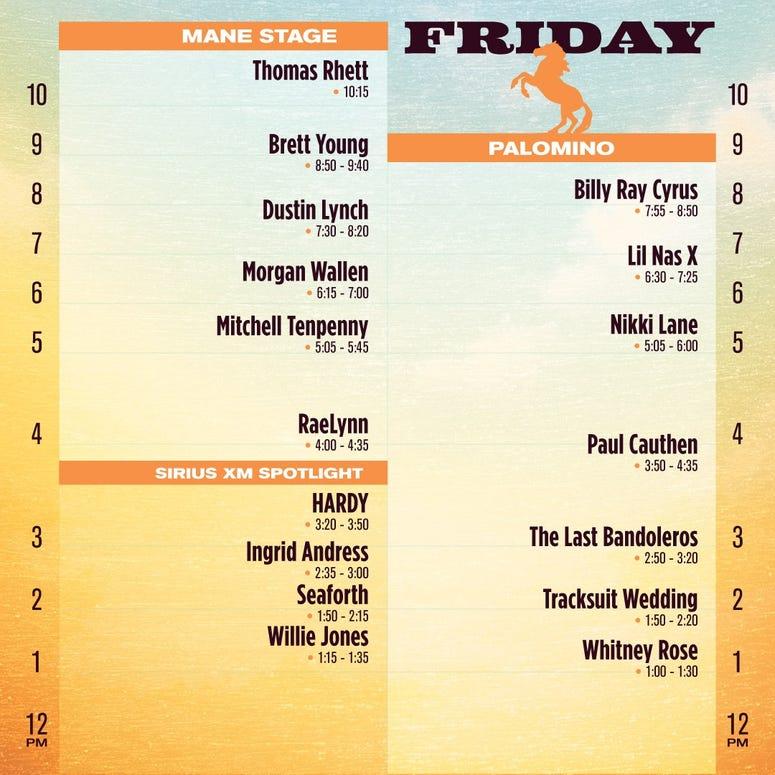 Stagecoach Friday