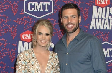 Carrie Underwood, Mike Fisher. 2019 CMT Music Awards