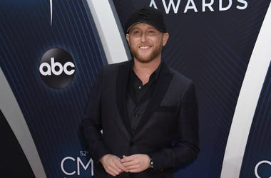 Cole Swindell. 52nd Annual CMA Awards