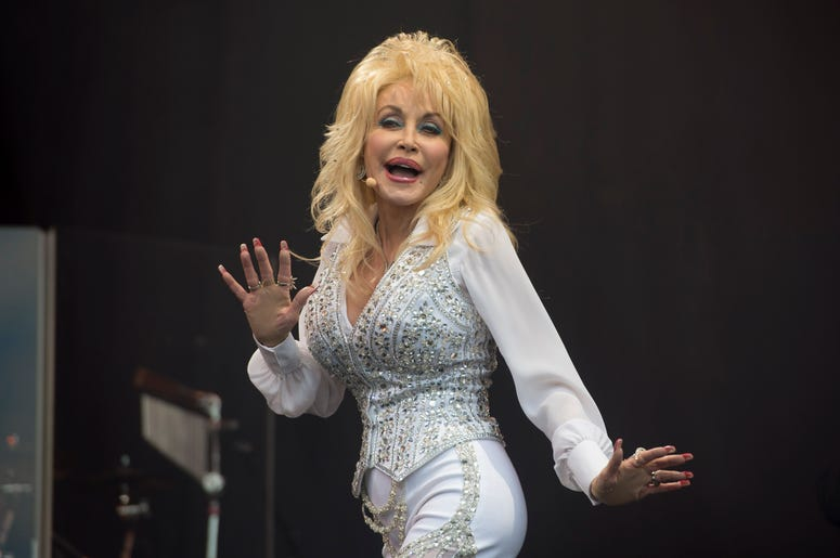 File photo dated 26/09/14 of Dolly Parton