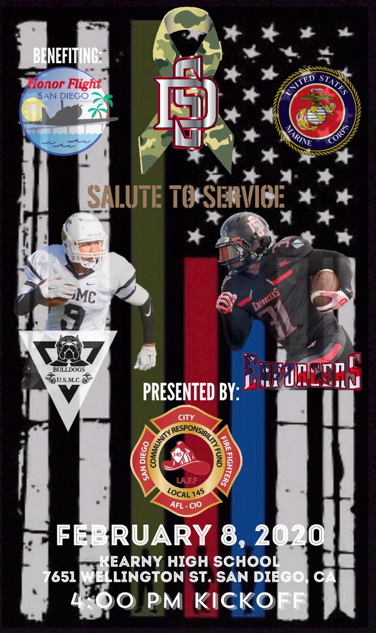 salute to service flyer