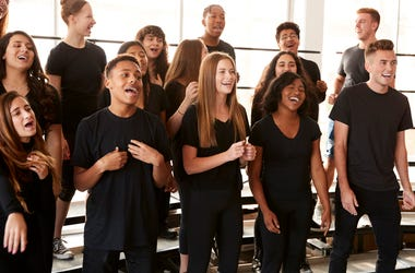 singing choir performing