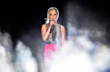 Carrie Underwood performs during 2019 CMT Music Awards at The Parthenon in Centennial Park on June 05, 2019 in Nashville, Tennessee. (Photo by Erika Goldring/Getty Images for CMT)