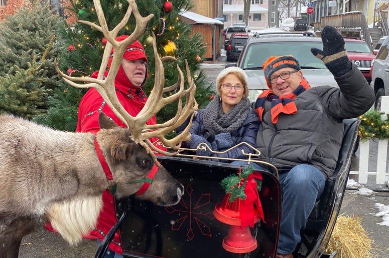 reindeer lady