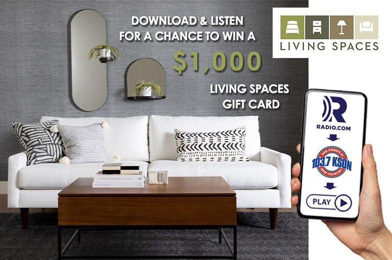 Living Spaces app contest KSON