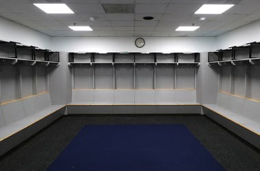 Empty Locker Room