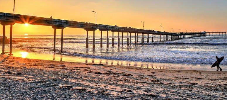 12 San Diego Beaches Top List Of Cleanest Beaches In Socal Kson Fm 103 7