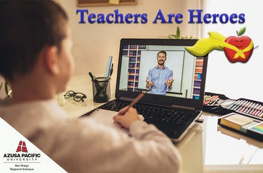 Teachers Are Heroes