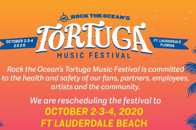 Tortuga Music Festival reschedules