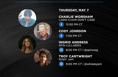 Warner Music Nashville Daily Live Viewing Guide 5.7.20
