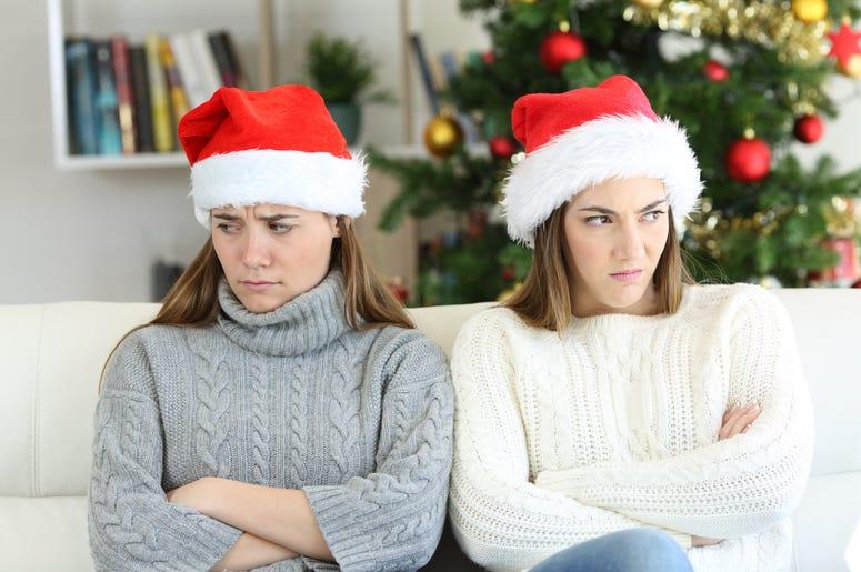 family annoyed