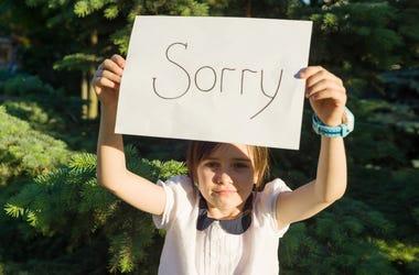 kid sorry