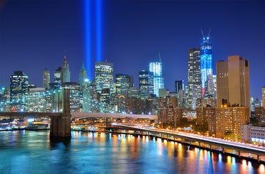 9/11 Tribute In Light, New York City
