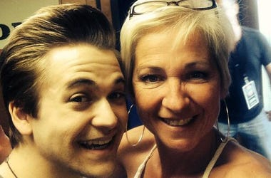 Tammy with Hunter Hayes