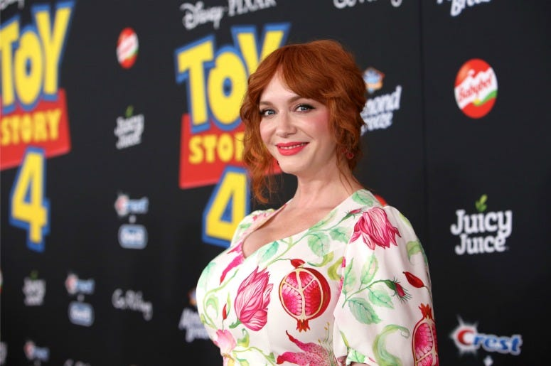 Christina Hendricks attends the world premiere of Disney and Pixar's TOY STORY 4