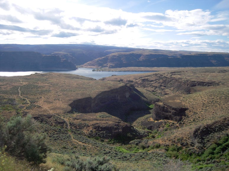 The view at the Gorge