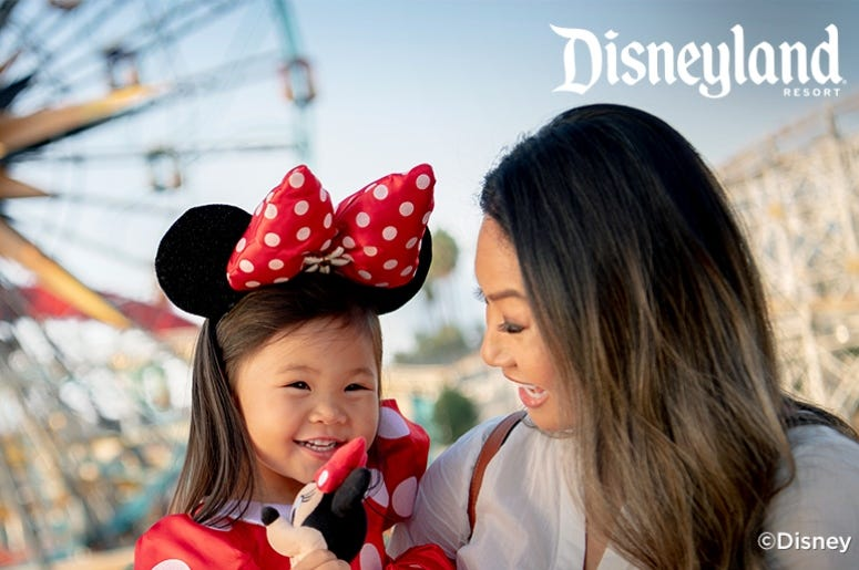 your chance to win a Disneyland Resort vacation for four