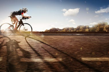 Fast cyclist