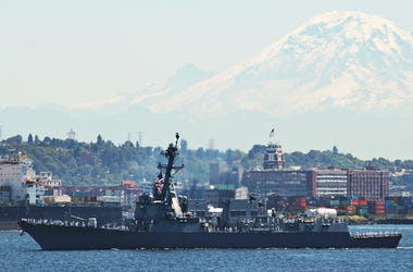 Navy ship in Seattle